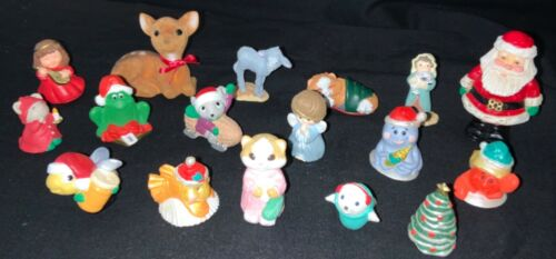 HALLMARK CHRISTMAS MERRY MINIATURE LOT