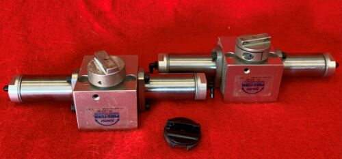 1 Lot of 2 - Bimba PT-017180 Pneu-Turn Rotary Actuator 150 PSi max 180 Degree