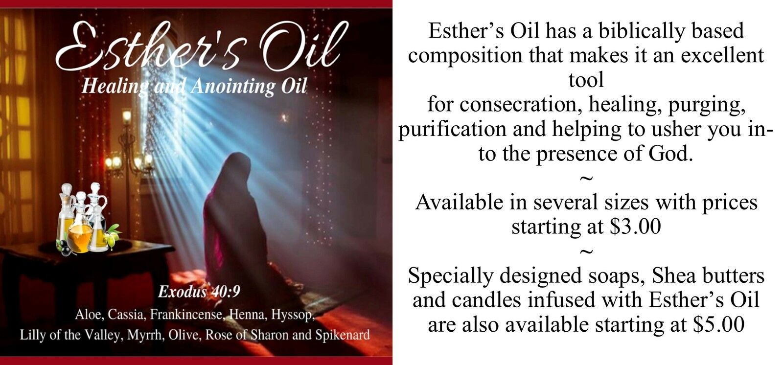 Esther's Oil