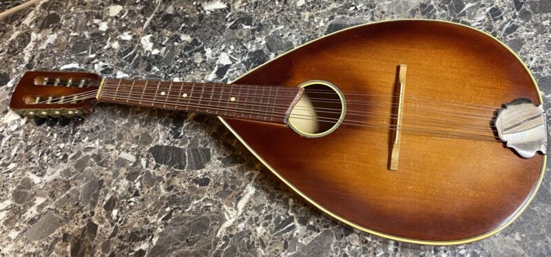 Mandolin Vintage A Style USSR Occupied Germany 1940
