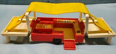 Vintage Fisher Price Little People Play Family Pop Up Camper #992 CAMPER ONLY