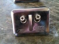 Ford STAINLESS STEEL BED HOOKS TIE DOWNS