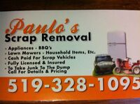 Paulo's Scrap Removal & Vehicles