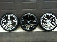 mags et pneus neufs pour bmw, serie 3, z3,z4