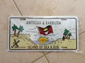 ANTIGUA  BARBUDA Licence plate  - novelty