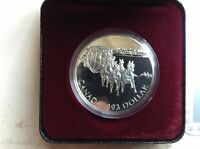 1992 Canadian coin proof silver dollar