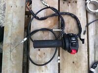 SUZUKI GSXR1000 07-08 CONTROLS CABLES & EXHAUST SERVO MOTOR
