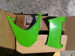 ZX10R 04-05 TAIL LIGHT COVER AND PLASTIC FROM THE REAR SEAT