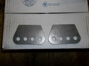 """1/4"""" THICK H/D 4 HOLE MOUNTING PLATE, SHOCKS, TRAC ARMS, 4 LINK, Belleville Belleville Area image 2"""