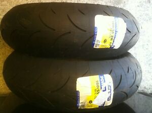 NEW MICHELINE PILOT POWER RACE TIRES MEDIUM SOFT