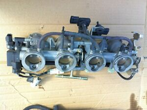KAWASAKI ZX636R 05-06 FUEL INJECTION RACK AND AIR BOX COMPLETE Windsor Region Ontario image 4