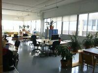 Espace de travail à partager dans le Mile End