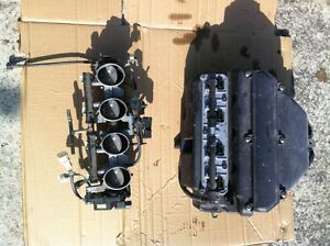 KAWASAKI ZX636R 05-06 FUEL INJECTION RACK AND AIR BOX COMPLETE Windsor Region Ontario image 9