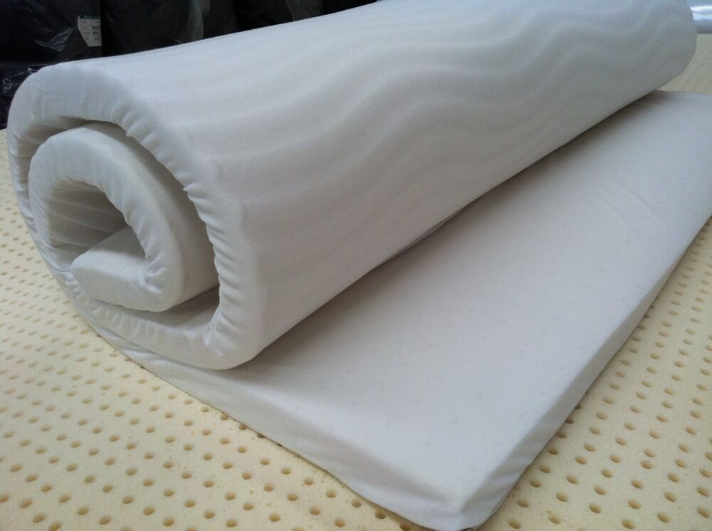 Queen Latex Convoluted Mattress Overlay Topper Made In