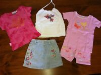 Girls clothes, spring & summer (size 0-10)