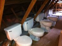 Lot de 6 toilettes