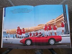 1992 Corvette dealer showroom catalog London Ontario image 5