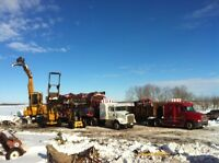 Industrial or Farm Cleanup, Demolition, Brushing, or Scrap Metal
