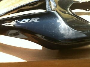 KAWASAKI NINJA ZX6R 2007-08 TAIL SECTION BLACK EBONY Windsor Region Ontario image 8