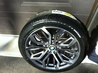 """mags 20"""" et pneus neufs pour bmw x5,x6"""