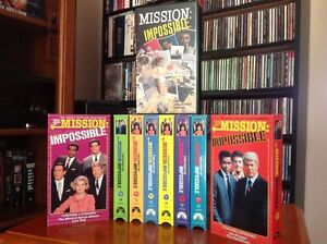 60's 70's TV MISSION IMPOSSIBLE Collection -  9 VHS LOW PRICE!