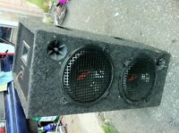 "Pair of Kenwood 10"" sub in a box $100 in Mississauga"