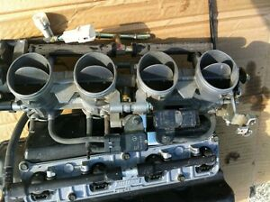 KAWASAKI ZX636R 05-06 FUEL INJECTION RACK AND AIR BOX COMPLETE Windsor Region Ontario image 5