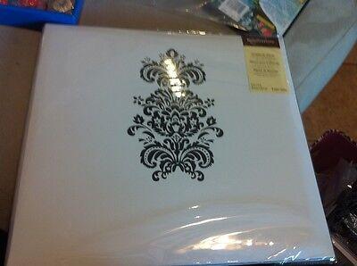 Scrapbook Album White Black