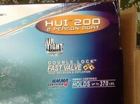 Brand new HUI 200 two persons boat. $50 obo