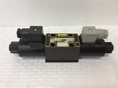 Parker D1vw004cnjpg Hydraulic Directional Control Valve Double Solenoid