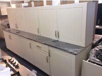 Newport Ivory Kitchen Units & 1 Worktop