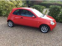 FORD KA ZETEC CLIMATE CLOTH FSH (red) 2007