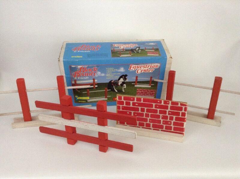 Black Beauty Good Ideas Replacement Equestrian Center Wooden Fences Vintage 1993