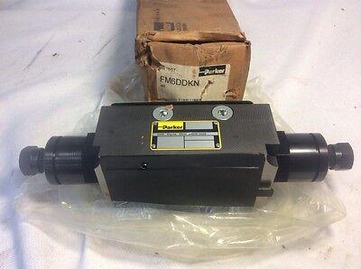 Parker Hydraulic Modular Flow Control 3000psi Fm6ddkn New