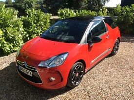 CITROEN DS3 E HDI DSTYLE PLUS 1 OWNER FSH (red) 2013