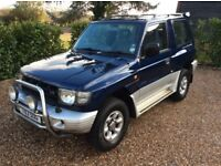 MITSUBISHI SHOGUN GLS V6 24V SWB FSH (blue) 1999
