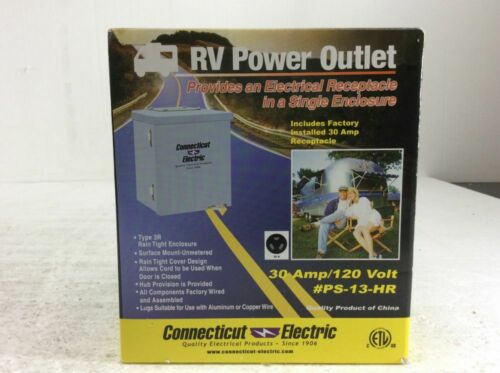 Connecticut Electric 30-Amp RV Power Outlet