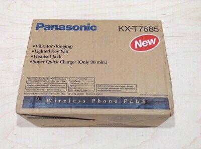 Panasonic Kx-t7885 Wireless Multi-line Phone With Caller Id