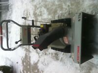 REDUCED A RARE CRAFTSMAN 5/23 SNOW BLOWER/THROWER WITH TRACKS