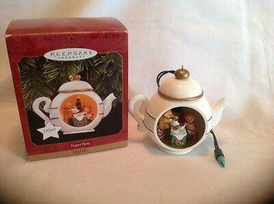Hallmark Teapot Party Magic Light Ornament1997