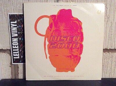 """Disco 2000 Original Soundtrack Triple 12"""" Limited Edition Set 90's Dance"""