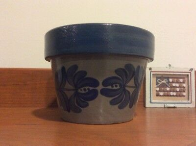 Beaumont Brothers Pottery Bbp Signed And Dtd Flower Pot Planter