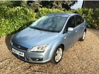 FORD FOCUS STYLE 12 MONTHS MOT FSH (blue) 2007