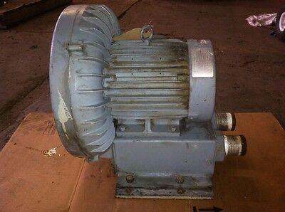 Spencer 7.5 Hp Regenerative Blower Vacuum Vb-037-e For Unipress Crd