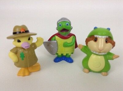 Wonder Pets Figures Tuck Linny Ming Ming Costumes Halloween 3pc Lot Mattel 2007  - Harry Potter Pet Costumes