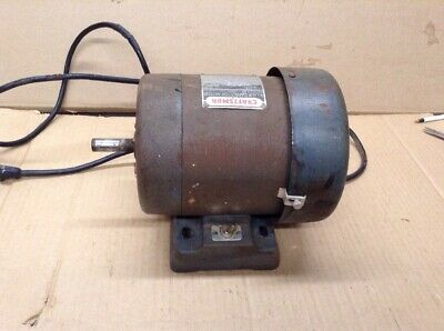 Craftsman 34 Hp Capacitor Motor 3450rpm Enclosed Fan Cooled   Em-137