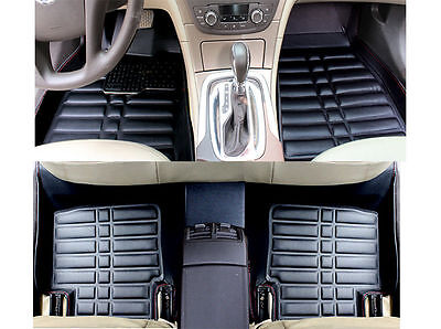 For BMW X5 2007 2013 FLY5D Car Floor Mats Front  Rear Liner Auto Waterproof Mat