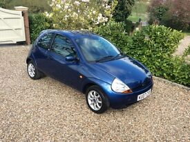 FORD KA ZETEC CLIMATE CLOTH (blue) 2007