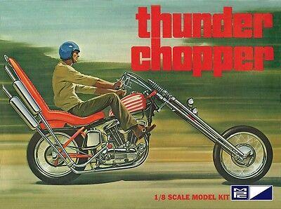 MPC 1:8 Thunder Chopper Custom Motorcycle Model Kit MPC835