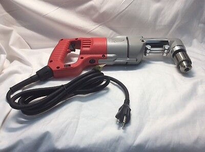 Milwaukee 3107-6 12 D-handle Right Angle Drill With Case